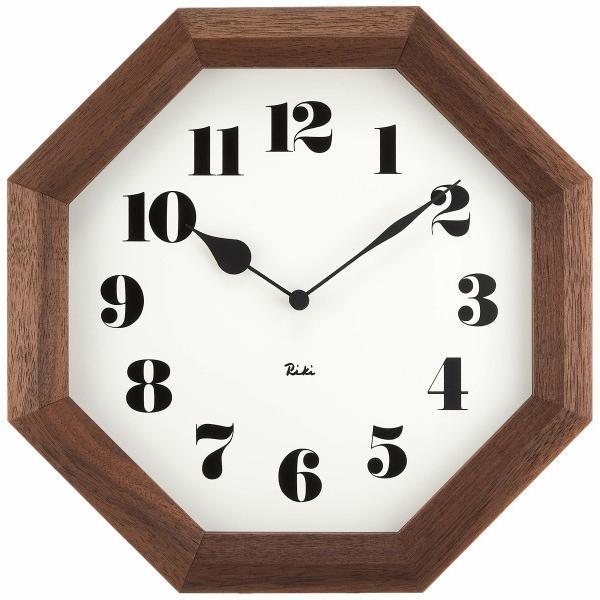 Lemnos (レムノス) 掛け時計 ブラウン サイズ