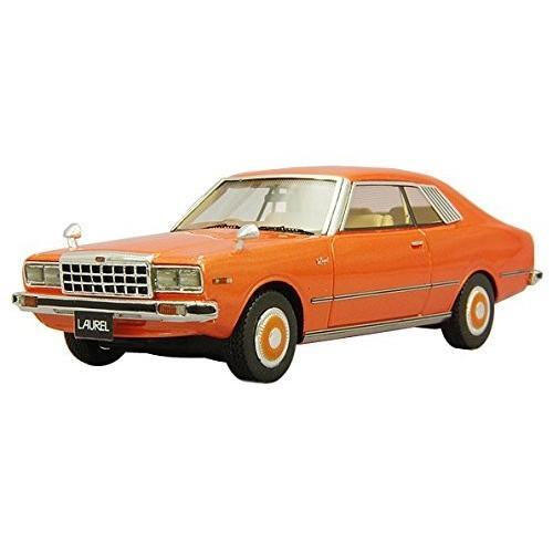 LA-X 1/43 日産 ローレル 2ドアハードトップ 2800 メダリスト 1978 オレンジメタリック 完成品