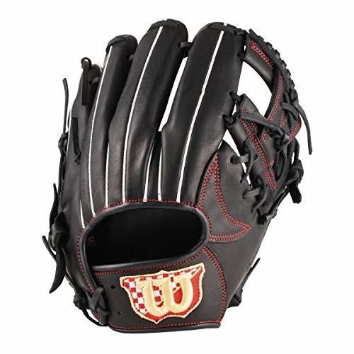 人気TOP Wilson(ウイルソン) EASY CATCH(イージーキャッチ) 野球 硬式 グローブ 内野手用 WTARET5JH90 ブラック P5J型 (ジュニア, ミヤジマチョウ b1e97427