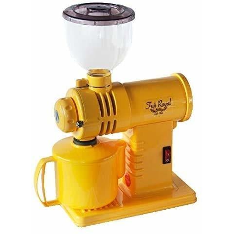 富士珈機 みるっこ コーヒーミル R-220 (スタンダードタイプ·イエロー)