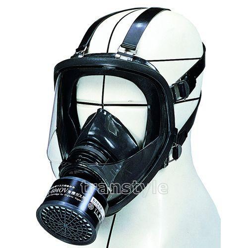 シゲマツ/重松 防毒マスク GM164 Mサイズ ガスマスク/作業/工事/送料無料