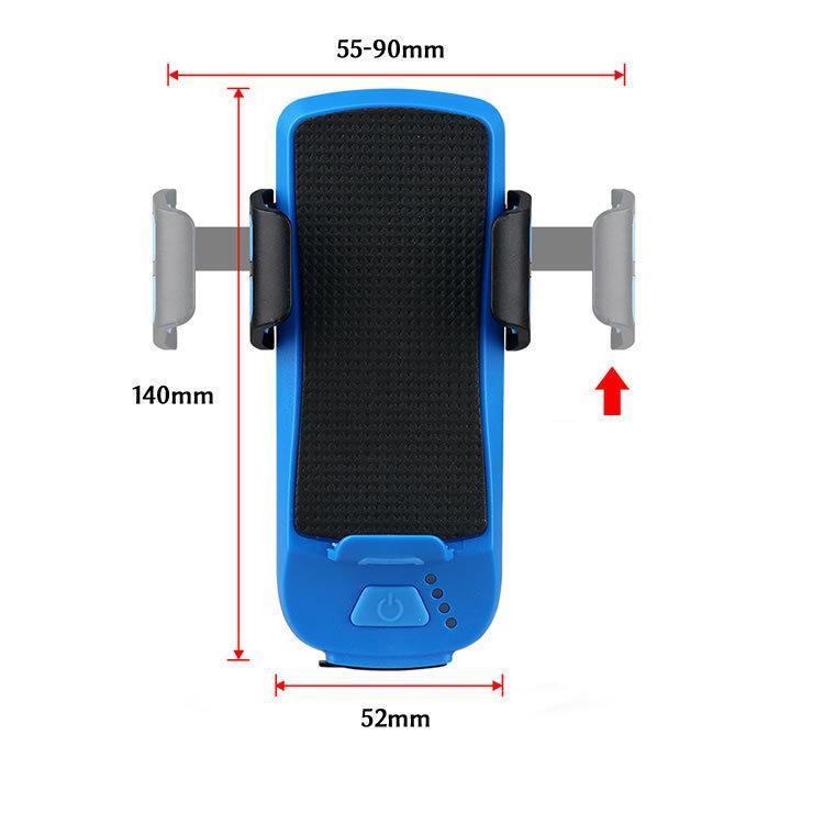 自転車 ライト led usb 充電式 モバイルバッテリー 2400mAh 明るい ヘッドライト テールライト 防水 ハンドル取り付け 工具不要 人気 おすすめ 送料無料|travelplus-jp|10