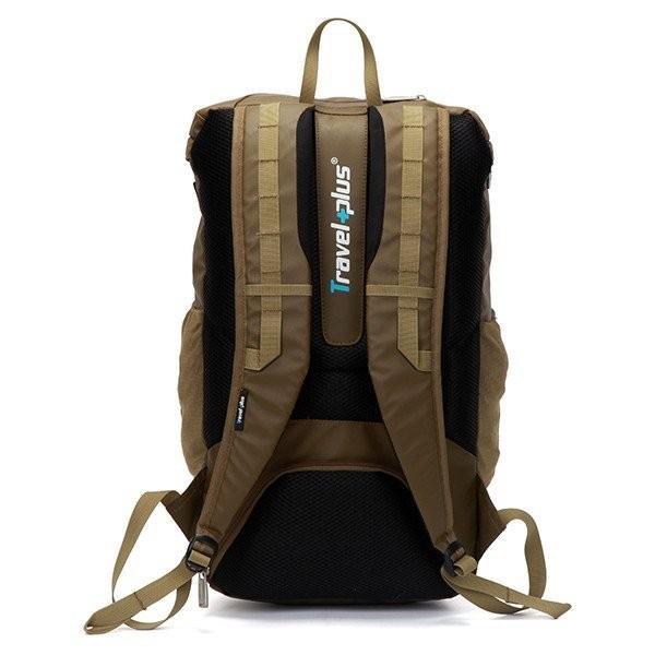 バックパック リュックサック リュック メンズ レディース スクエアリュック バッグ カバン 鞄 ポケット 多い 通勤 通学 大容量 軽量 撥水 出張 登山 TP750115 travelplus-jp 19