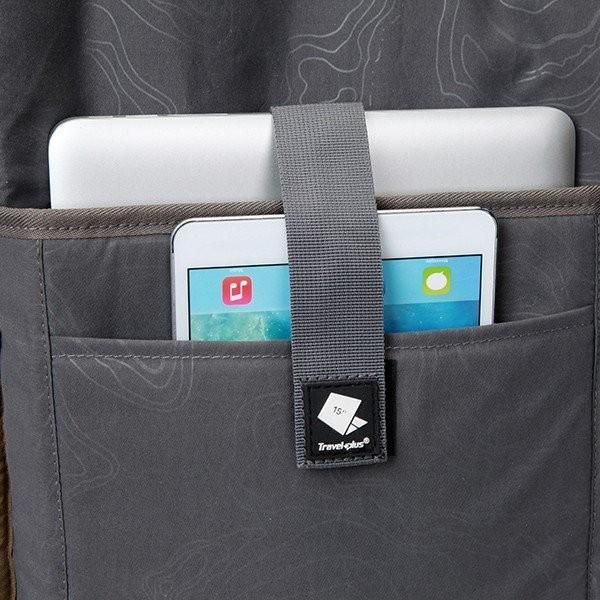 バックパック リュックサック リュック メンズ レディース スクエアリュック バッグ カバン 鞄 ポケット 多い 通勤 通学 大容量 軽量 撥水 出張 登山 TP750115 travelplus-jp 05