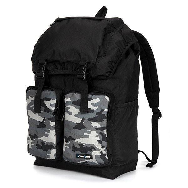バックパック リュックサック リュック メンズ レディース 鞄 カバン ポケット 多い 通勤 通学 大容量 軽量 撥水 出張 登山 アウトドア 学生 遠足 旅行用 避難用|travelplus-jp|08