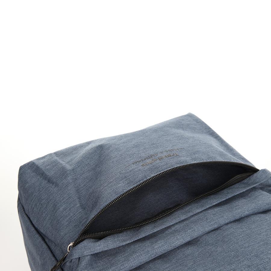 送料無料 バックパック リュックサック リュック メンズ レディース スクエアリュック バッグ カバン 鞄 ポケット 多い 通勤 通学 大容量 軽量 TP850201 travelplus-jp 11