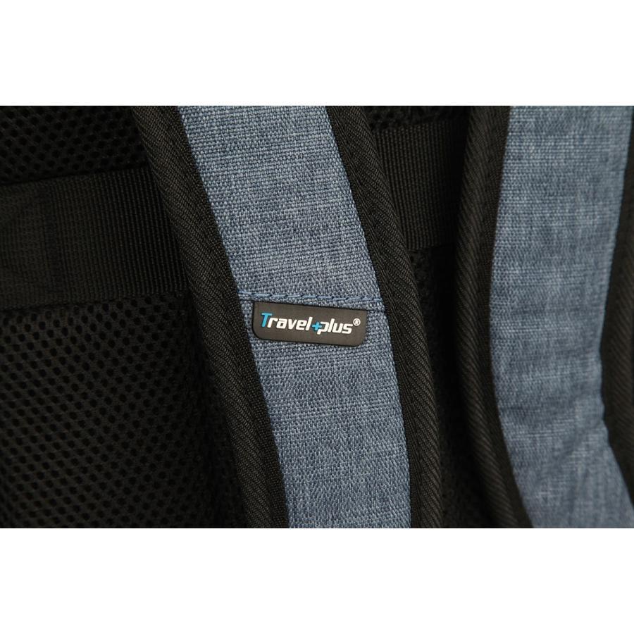 送料無料 バックパック リュックサック リュック メンズ レディース スクエアリュック バッグ カバン 鞄 ポケット 多い 通勤 通学 大容量 軽量 TP850201 travelplus-jp 10