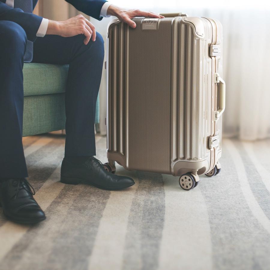 スーツケース キャリーケース キャリーバッグ トランク 中型 軽量 Mサイズ おしゃれ 静音 ハード フレーム ビジネス 8輪 5509-57|travelworld|04