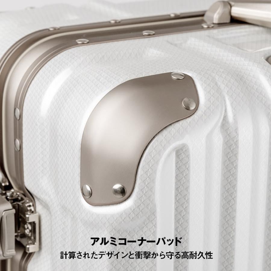 スーツケース キャリーケース キャリーバッグ トランク 中型 軽量 Mサイズ おしゃれ 静音 ハード フレーム ビジネス 8輪 5509-57|travelworld|08