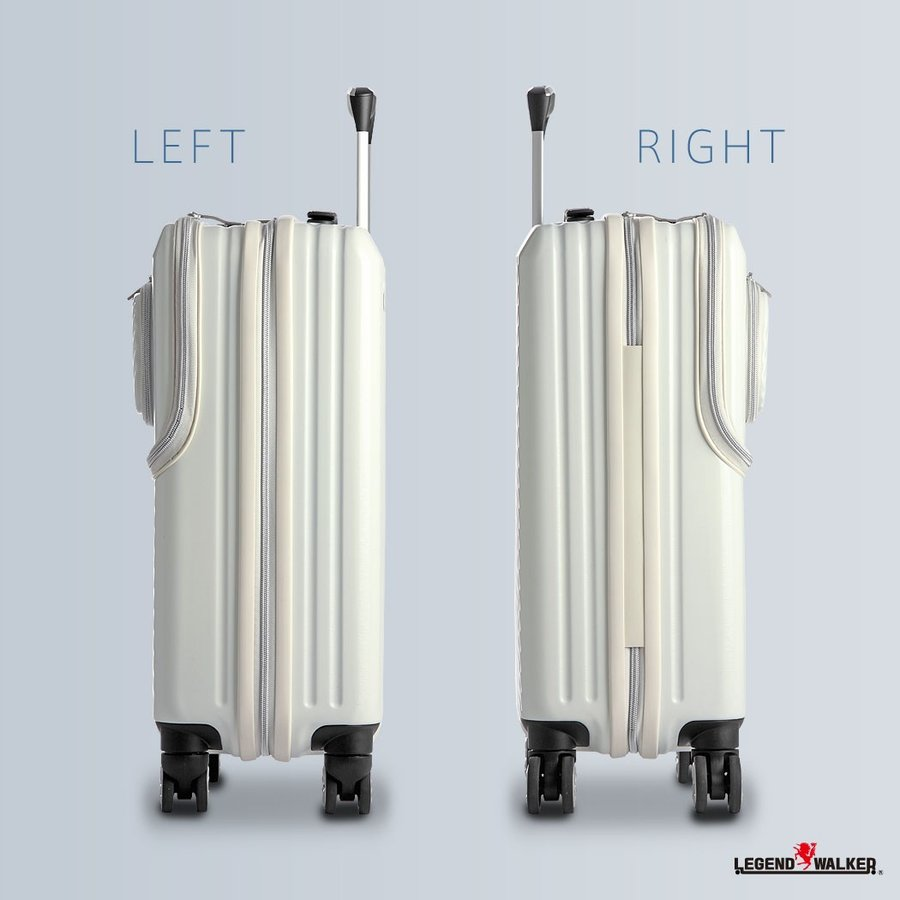 アウトレット スーツケース キャリーケース キャリーバッグ トランク 小型 機内持ち込み 軽量 おしゃれ 静音 ファスナー ビジネス パソコン収納 B-6024-48 travelworld 05