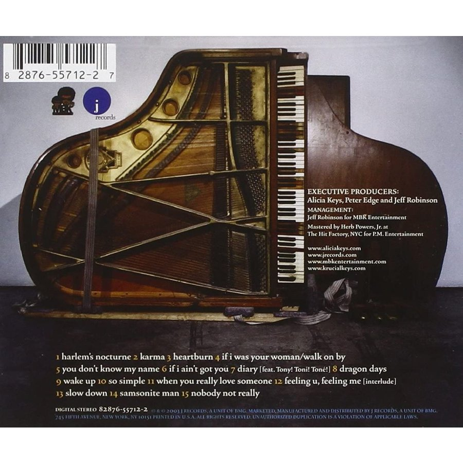 The Diary of Alicia Keys アリシア・キーズ 輸入盤CD インポート|trd-gift|02