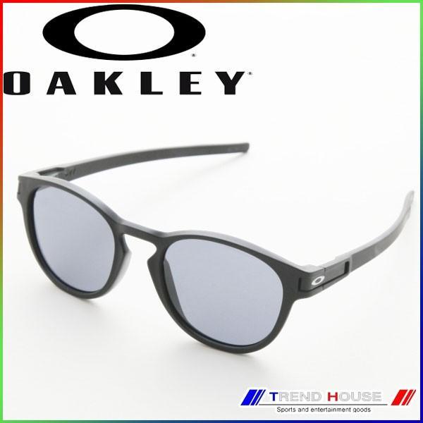 オークリー サングラス ラッチ (アジアン) OO9349-01 Latch (Asia Fit) Matte 黒/Gray OAKLEY