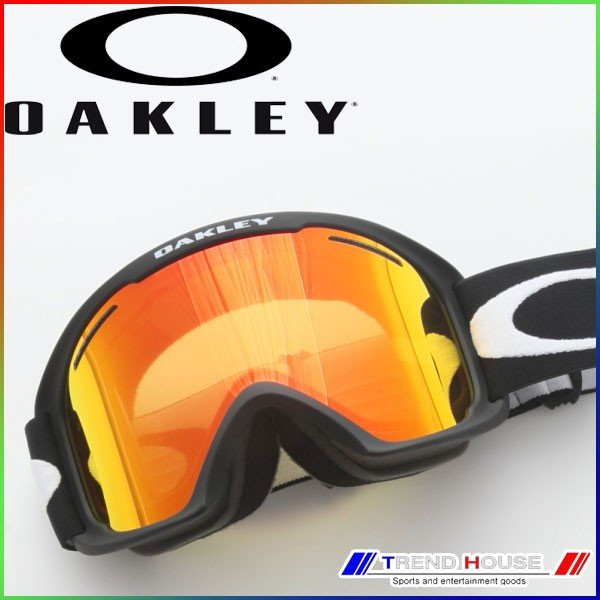 オークリー ゴーグル O-フレーム 2.0 XL アジアンフィット OAKLEY/59-084J O-FRAME 2.0 XL Matte 黒(ALT FIT) Fire Iridium 59-084J