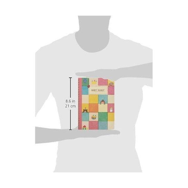 育児日記 ダイアリー ノート 手帳 グッズ A5 1年 365日 24時間 銀鳥産業 送料無料|trea-villa|07