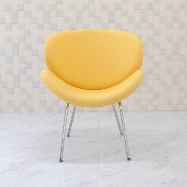 オレンジスライスチェア ピエールポーリン イエロー 椅子 いす イス