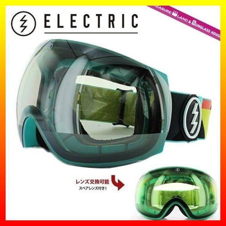 エレクトリック スキーゴーグル スノーゴーグル ELECTRIC EG3 BEACH CLEAR/銀 CHROME EG6214401_CSRC アジアンフィット 国内正規品