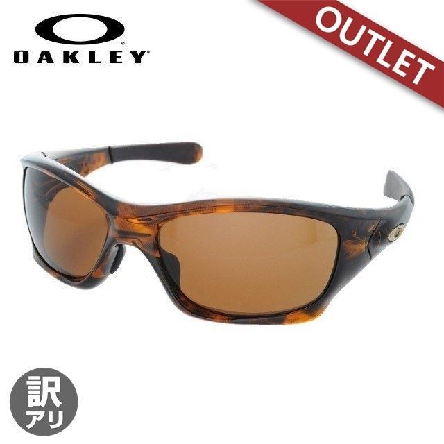 訳あり オークリー サングラス アジアンフィット OAKLEY ピットブル OO9161-01 褐色 Tortoise/Dark 褐色