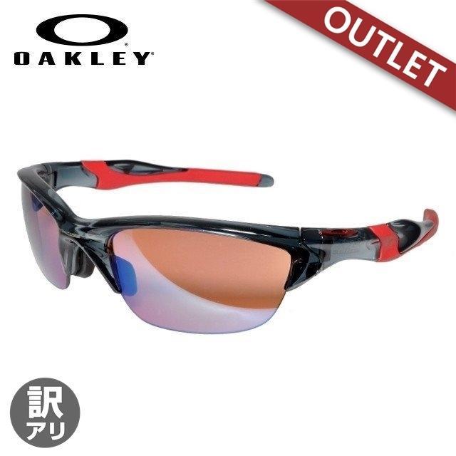 【訳あり アウトレット】オークリー サングラス oakley メンズ レディース スポーツ ミラー ハーフジャケット 2.0 OO9153-11