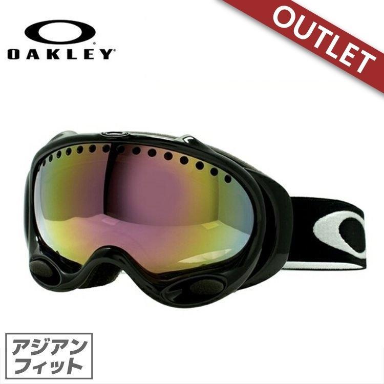 【訳あり アウトレット】ゴーグル オークリー スノーボード スキー oakley アジアンフィット aフレーム 57-204J AFrame