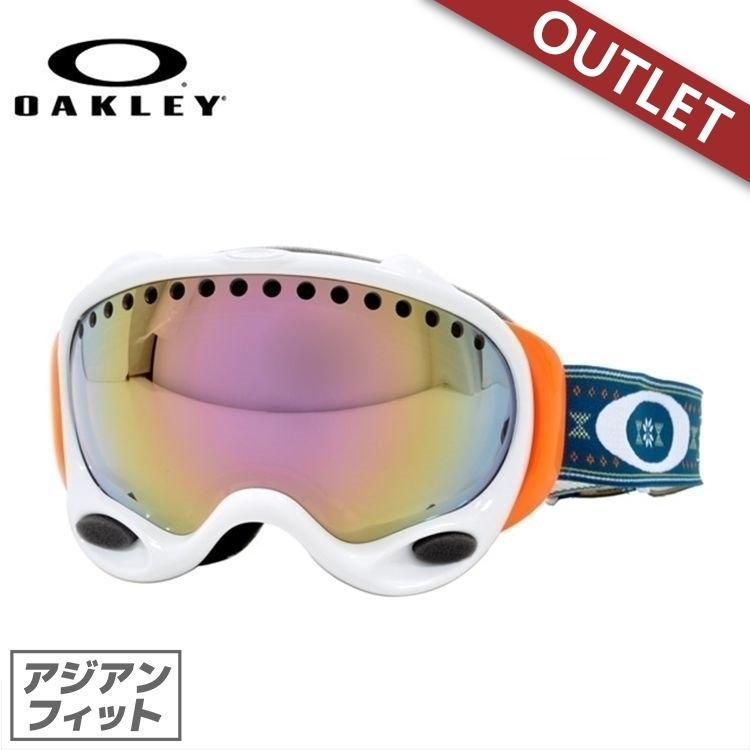【訳あり アウトレット】ゴーグル オークリー スノーボード スキー oakley aフレーム 59-236J AFrame GRETCHEN BLEILER Signature アジアンフィット