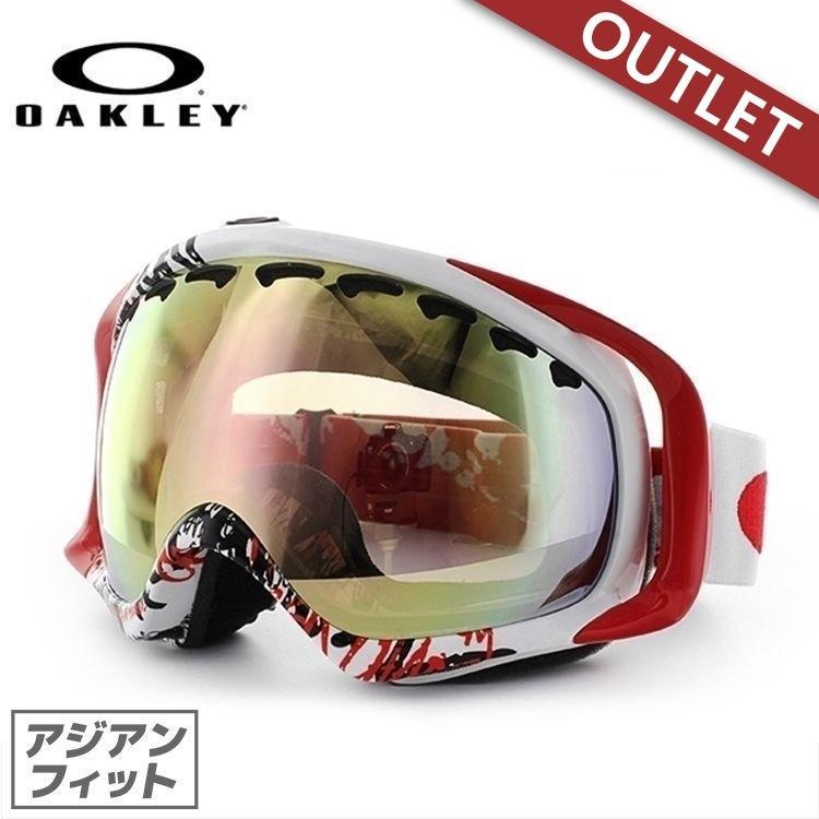 (訳あり アウトレット)ゴーグル オークリー スノーボード スキー oakley クローバー アジアンフィット 59-244J Crowbar SETH MORRISON