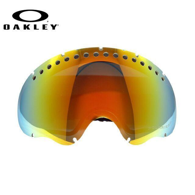 オークリー ゴーグル 交換用レンズ OAKLEY エーフレーム 01-044 A Frame Fire Iridium 偏光レンズ