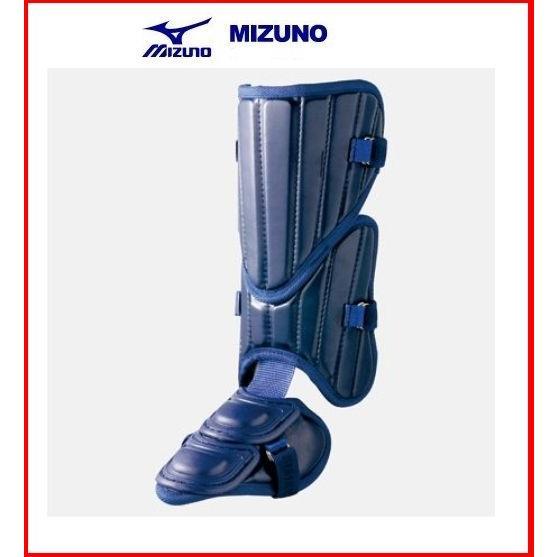 Mizuno ミズノ フットガード ネイビー 高校野球対応 左右兼用 2YL918 打者用プロテクター