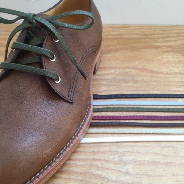 靴ひも プラセル アクリル平紐6mm(60cm/70cm/80cm/90cm/100cm)靴紐 靴ヒモ くつ紐 シューレース|treetop-shoes|02