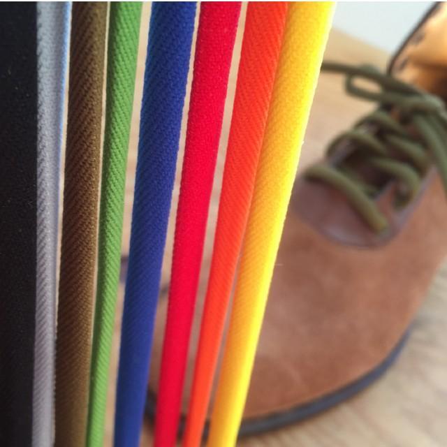 靴ひも プラセル ナイロン楕円形丸紐6mm(60cm/70cm/80cm/90cm/100cm)靴紐 靴ヒモ くつ紐 シューレース|treetop-shoes