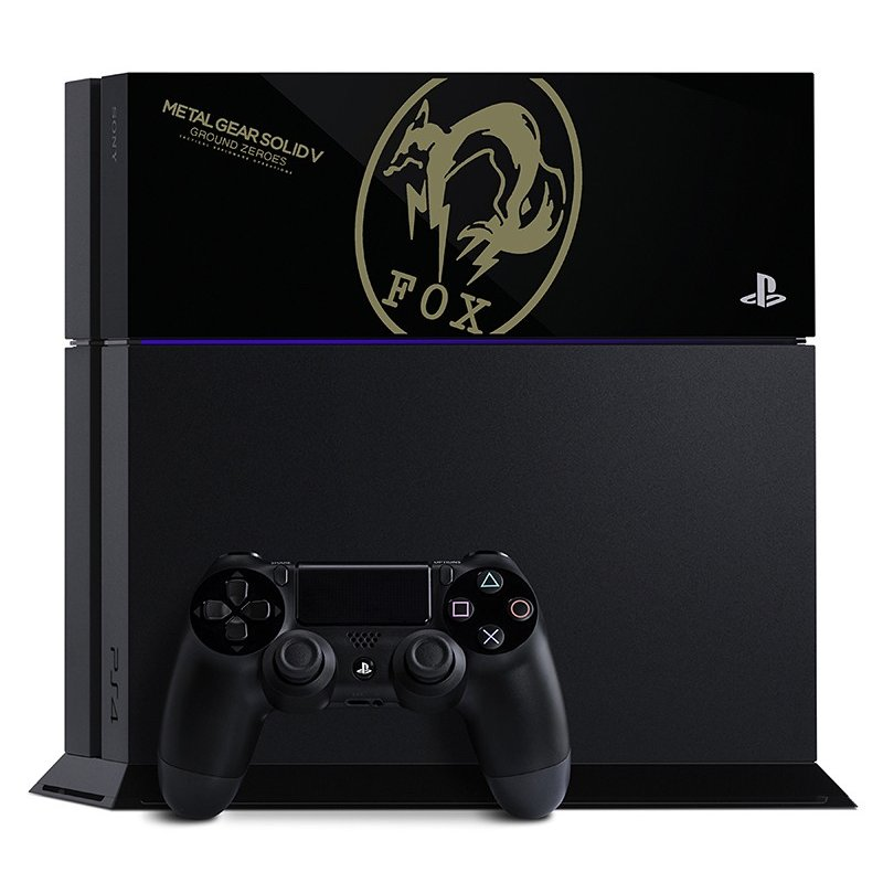 PS4 PlayStation 4 × METAL GEAR SOLID V : GROUND ZEROES FOX EDITION(わけあり)(5093063CW)
