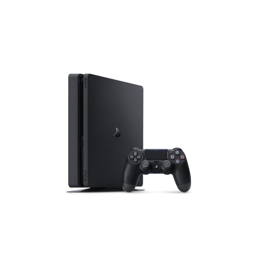 PlayStation 4 ジェット・ブラック 500GB (CUH-2100AB01)(箱なし:わけあり)(5093648BW2)