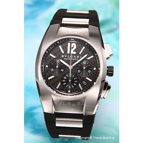 wholesale dealer a8c7d 2f0d8 ブルガリ 腕時計 BVLGARI Ergon (エルゴン) ブラック×ラバー クロノオート メンズ EG40BSVD CH  :wa-bvl-0040:トレンドウォッチ - 通販 - Yahoo!ショッピング