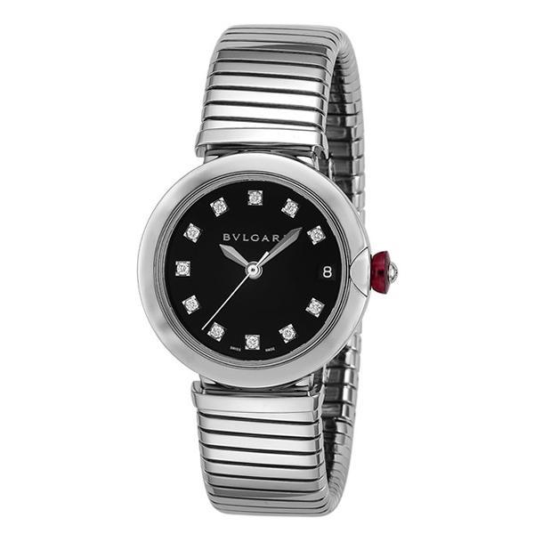 最初の  ブルガリ 時計 BVLGARI レディース 腕時計 Lvcea Tobogas LU33BSSD/11.T, サガエシ 7f43245d