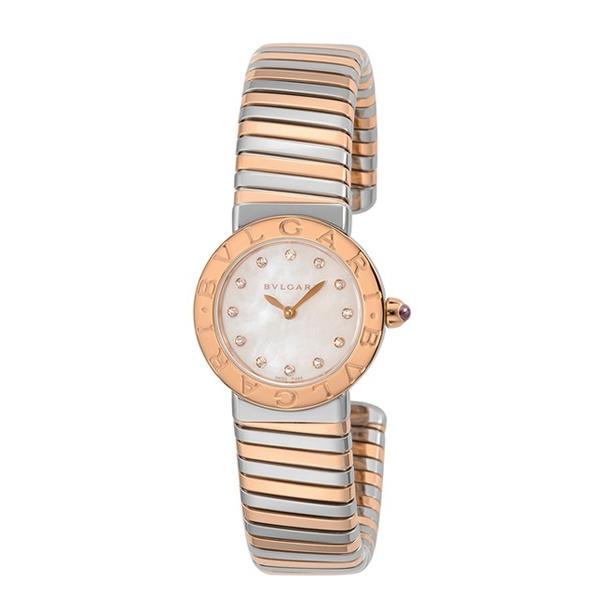 最新 ブルガリ 時計 BVLGARI レディース 腕時計 Bvlgari Bvlgari Tobogas BBL262TWSPG/12 M, リカー問屋マキノ 5df488c8