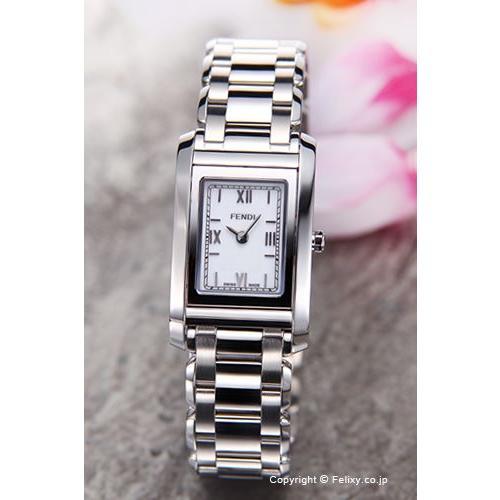 【完売】  フェンディ レディース 腕時計 レディース F775240J F775240J ループ ループ ホワイト, 西川チェーン布団Shop 【四十坊】:d6e991be --- airmodconsu.dominiotemporario.com