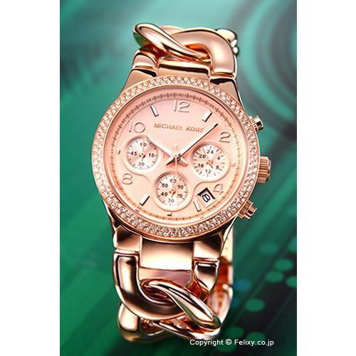 品揃え豊富で マイケルコース MICHAEL KORS 腕時計 レディース MK3247 ランウェイ オールローズゴールド, 和物屋 2476d619