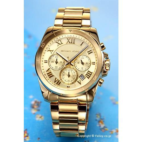 品質が完璧 マイケルコース MICHAEL KORS 腕時計 ブレッケン クロノグラフ オールゴールド MK6366, MC ヴィオ 52c6a417