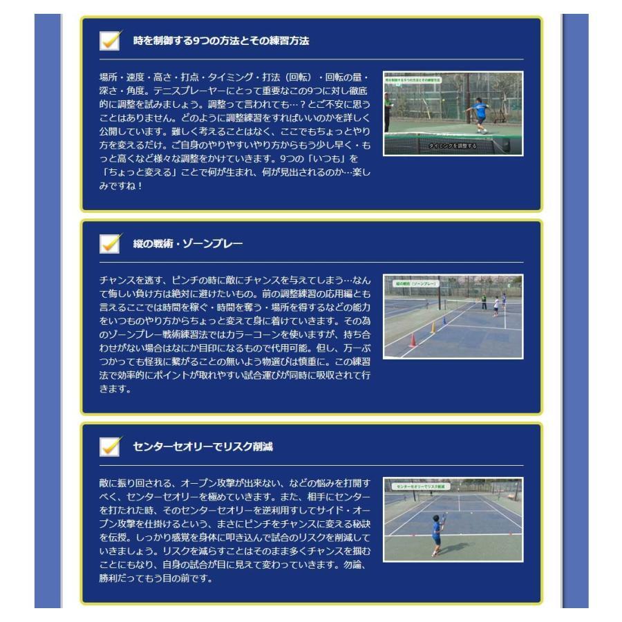時とリスクを制御して勝つテニスDVD 結果が出せる考え方とその実践ドリル trendaqua 05