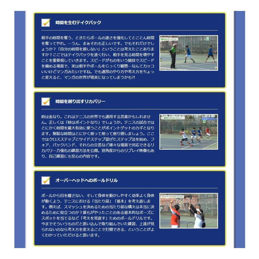 時とリスクを制御して勝つテニスDVD 結果が出せる考え方とその実践ドリル trendaqua 06