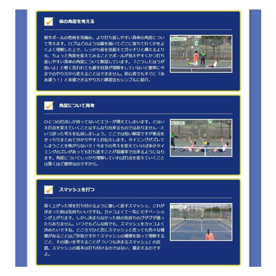 時とリスクを制御して勝つテニスDVD 結果が出せる考え方とその実践ドリル trendaqua 07