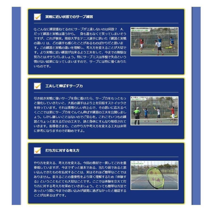 時とリスクを制御して勝つテニスDVD 結果が出せる考え方とその実践ドリル trendaqua 08