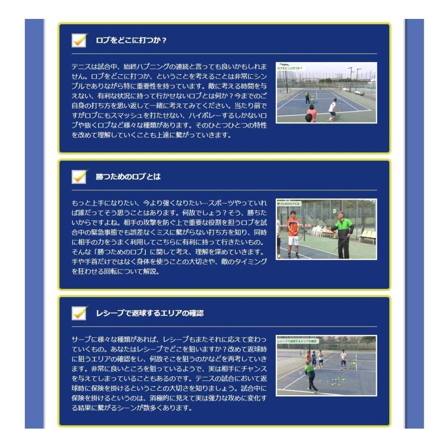時とリスクを制御して勝つテニスDVD 結果が出せる考え方とその実践ドリル trendaqua 09