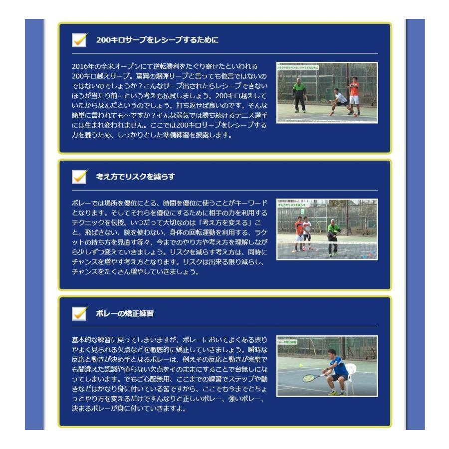 時とリスクを制御して勝つテニスDVD 結果が出せる考え方とその実践ドリル trendaqua 10