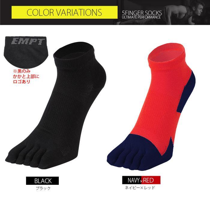 EMPT 5本指 ランニングソックス 靴下 メンズ 黒 ブラック ランニングソックス スポーツソックス 五本指ソックス 5本指靴下 ランニングウェア おすすめ マラソン|trendst|13