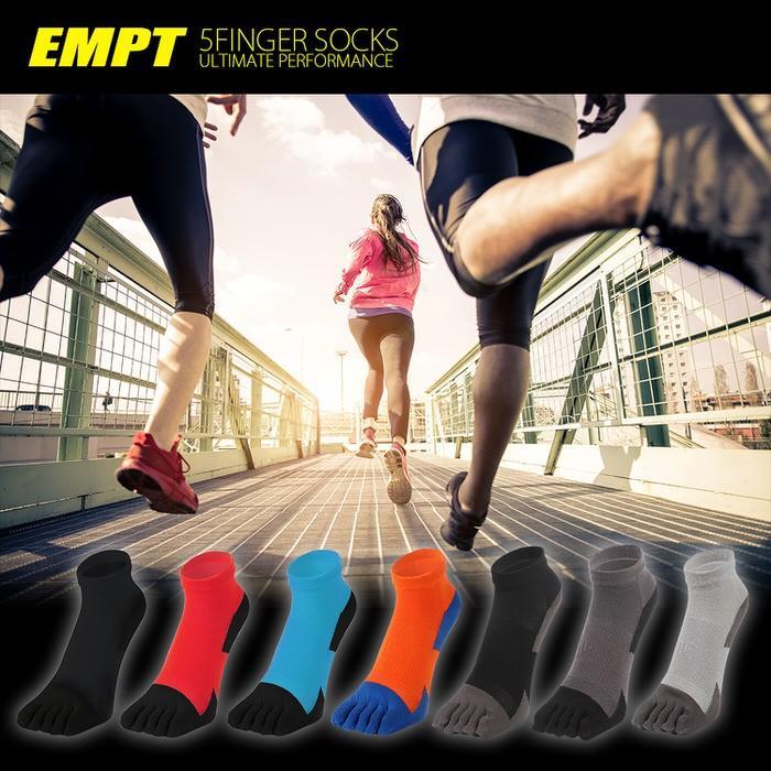 EMPT 5本指 ランニングソックス 靴下 メンズ 黒 ブラック ランニングソックス スポーツソックス 五本指ソックス 5本指靴下 ランニングウェア おすすめ マラソン|trendst|17