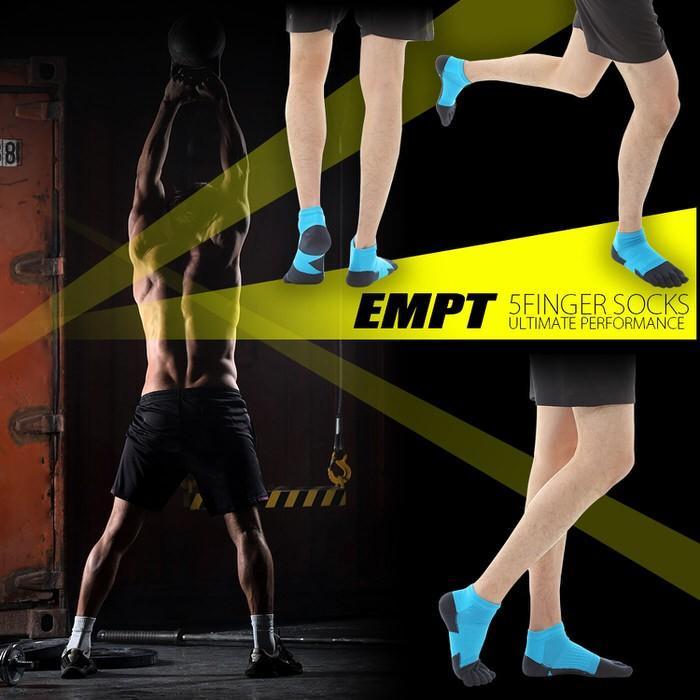 EMPT 5本指 ランニングソックス 靴下 メンズ 黒 ブラック ランニングソックス スポーツソックス 五本指ソックス 5本指靴下 ランニングウェア おすすめ マラソン|trendst|06