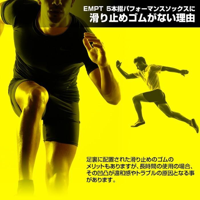 EMPT 5本指 ランニングソックス 靴下 メンズ 黒 ブラック ランニングソックス スポーツソックス 五本指ソックス 5本指靴下 ランニングウェア おすすめ マラソン|trendst|09