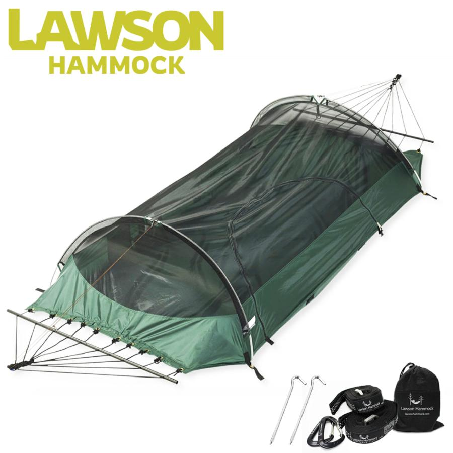ローソンハンモック ブルー・リッジキャンピングハンモック 2021モデル【日本正規品】ハンモック ソロ テント Lawson Hammock Blue Ridge Camping Hammock|trente-trois
