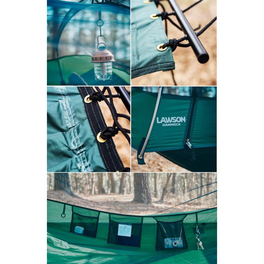 ローソンハンモック ブルー・リッジキャンピングハンモック 2021モデル【日本正規品】ハンモック ソロ テント Lawson Hammock Blue Ridge Camping Hammock|trente-trois|20