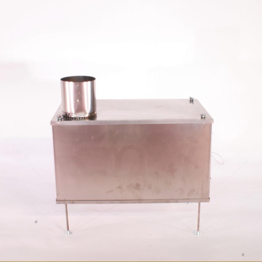 薪ストーブ ポータブルチタンストーブ Lサイズ サイドプレート付き Portable Titanium Wood Stove Seek Outside trente-trois 02